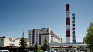 Fortumin Tjumenin voimalaitos Venäjällä.