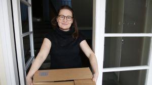 Lapin yliopiston tutkija Veera Kinnunen luki 400 sivua muuttokertomuksia.