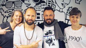 Tunna Milonoff, Riku Rantala ja YleX Etusivu