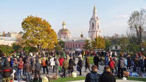 Näkymä moskovalaisesta puistosta.