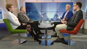 Sirkka Hämäläinen, Iiro Viinanen ja Heikki Pälve