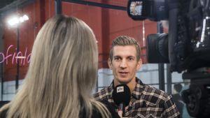 Jarkko Nieminen haastattelussa.