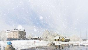 Suomenlinnan arkkitehtikilpailun ehdotus