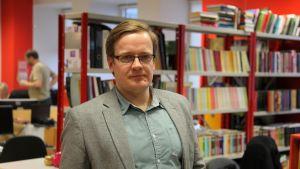 Eesti Ekspressin päätoimittaja Erik Moora.