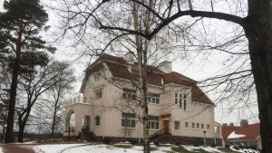 Urho Kekkonen -museo Tamminiemi.