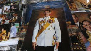 Thaimaan kruununprinssi Maha Vajiralongkorn.