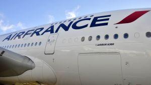 Air France airbus lentokone.