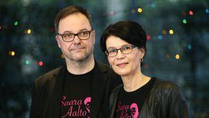 Saara Aallon vanhemmat.