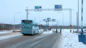 Nuijamaan rajanylityspaikka Lappeenrannassa
