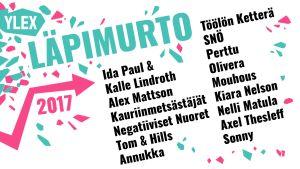 He ovat YleX Läpimurto -artistit.