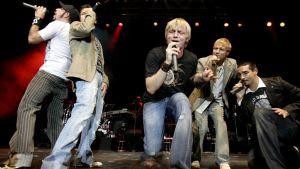 Backstreet Boys Sveitsissä vuonna 2005.