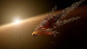 Protoplaneettojen törmäys
