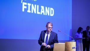 Pääministeri Juha Sipilä Team Finland -päivässä Helsingissä elokuussa 2016.