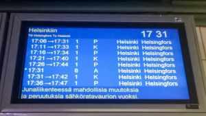 Juna aikataulu