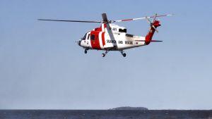 Ruotsi meripelastus helikopteri