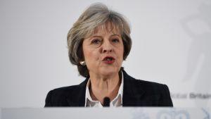Britannian pääministeri Theresa May