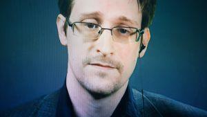 Tietovuotaja Edward Snowden.