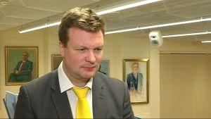 SDP:n kansanedustaja Ville Skinnari