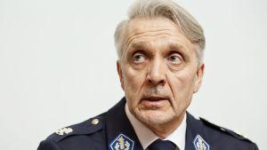 Länsi-Uudenmaan poliisilaitoksen poliisipäällikkö Jari Liukku.