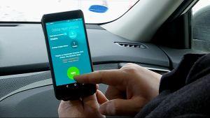 OCTO3:n kehittämä mobiilisovellus koekäytössä