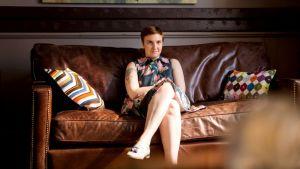 Girls-sarjan päähenkilö Hannah Horvath (Lena Dunham).
