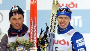 Haavard Solbakken ja Ari Palolahti