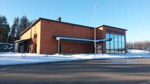 Kafe Finlandia E-18 moottien varrella Pyhtäällä