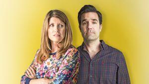 Sharon Horgan ja Rob Delany järjestivät elämäänsä pienen katastrofin.
