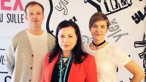 Susanna Reinboth ja YleX Etusivu