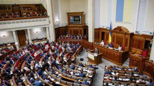 Ukrainan Parlamentti.