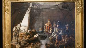 Orléansin nuori herttua Louis Philippe saamelaiskodassa.