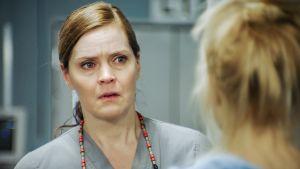 Kuvassa Marleenaa näyttelevä Tiina Lymi.