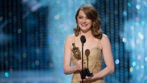 Emma Stone sai parhaan naispääosan Oscarin.