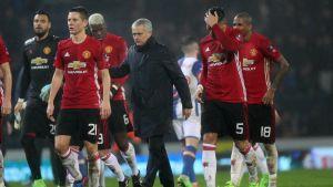 Jose Mourinho ja Manchester United.
