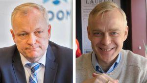 Kalle Jokinen ja Timo Heinonen.