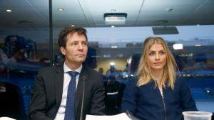 Christian B. Hjort ja Therese Johaug kuvassa