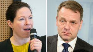 Anni Sinnemäki ja Jan Vapaavuori