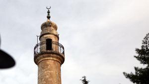Moskeijan minareetti Israelissa