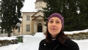 Hanna-Maria Rentola toimii Sulkavan vt. kirkkoherrana.