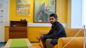 Ali Alghazal näyttely Kemin sarjakuvakeskuksella.