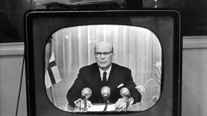 Presidentti Kekkosen uudenvuodenpuhe 1958