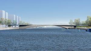silta kaupungissa