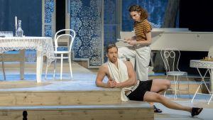 Terijoella -näytelmä Lappeenrannan kaupunginteatterissa