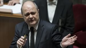 Ranskan eronnut sisäministeri Bruno Le Roux.