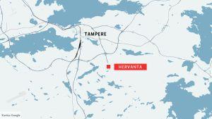 Tampereen kartta
