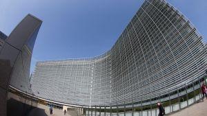 Euroopan komission Berlaymont-rakennuksen kirjanpitoarvo on 344 miljoonaa euroa.
