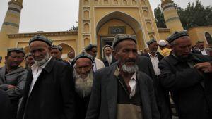 Uiguurimiehiä