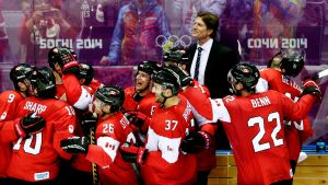Sotshissa vuonna 2014 olympiakultaa juhli Kanada.