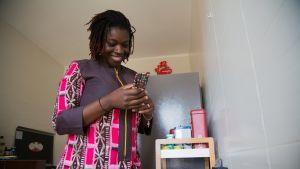 Karelle, bloggari Senegal