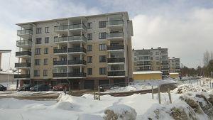Rovaniemelle on valmistunut useita kerrostaloja viime vuosina.